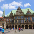 Historic town hall of Bremen, Germany — Stock Photo