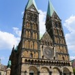 The cathedral of Bremen, Germany — Stock Photo