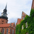 Постер, плакат: The Church of St Cosmas and Damian in Stade Germany