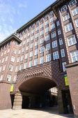Chilehaus in Hamburg, Germany — Stock Photo