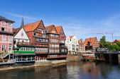 The old port of Lüneburg — Stockfoto