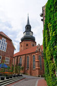 The Church of St. Cosmas and Damian in Stade, Germany — Foto Stock