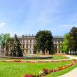 Schlossgarten in the Summer in Erlangen, Germany — Photo