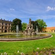 Schlossgarten in the Summer in Erlangen, Germany — Stock Photo
