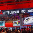 Stock Photo: TOKYO, JAPAN - November 23, 2013: Booth at Mitsubishi Motors