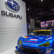 Stock Photo: TOKYO, JAPAN - November 23, 2013: Booth at Subaru