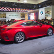 TOKYO, JAPAN - November 23, 2013: RC Coupe at the booth of Lexus — Stock Photo