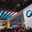 TOKYO, JAPAN - November 23, 2013: Booth at BMW — Stock Photo