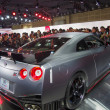 Постер, плакат: TOKYO JAPAN November 23 2013: GT R at the Booth of Nissan Motor