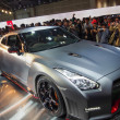 Stock Photo: TOKYO, JAPAN - November 23, 2013: GT-R at Booth of NissMotor