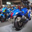 Stock Photo: TOKYO, JAPAN - November 23, 2013: Booth at Suzuki Motor