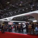 ������, ������: TOKYO JAPAN November 23 2013: Booth at Audi