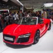 Stock Photo: TOKYO, JAPAN - November 23, 2013: Booth at Audi
