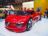 TOKYO, JAPAN - November 23, 2013: Booth at Renault — Stock Photo