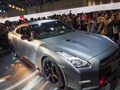 TOKYO, JAPAN - November 23, 2013: GT-R at the Booth of Nissan Motor — Stock Photo