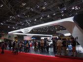 TOKYO, JAPAN - November 23, 2013: Booth at Audi — Stock Photo