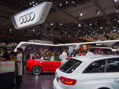 TOKYO, JAPAN - November 23, 2013: Booth at Audi — Stock Photo