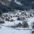 Stock Photo: Historic Village of Shirakawa-go in winter