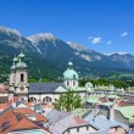 Cityscape of Innsbruck in Austria — Stock Photo #41915197