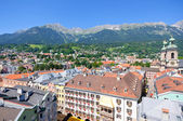 Cityscape of Innsbruck in Austria — Stock Photo