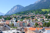 Cityscape of Innsbruck in Austria — 图库照片