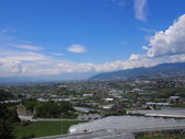 Landscape of Kofu Basin in Yamanashi, Japan — Stock Photo