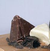 牛奶巧克力 — 图库照片