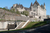 Fairmont Chateau Laurier — Stock Photo