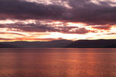 SunSet over Lake Okanagan — Stock Photo