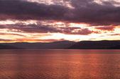 SunSet over Lake Okanagan — Stock Photo