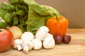 Ingredients for a Salad — Stock Photo