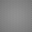 Metal grill seamless pattern. - Stockvectorbeeld
