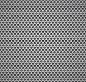 Metal grill seamless pattern. — Vector de stock
