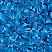 Padrão sem emenda superfície geométrico azul. — Vetorial Stock