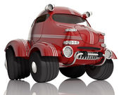 Red car. — Stok fotoğraf
