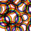 Rainbow seamless pattern. - Image vectorielle
