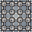 Metal netting texture beautiful pattern. — Stock Vector