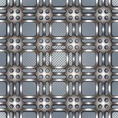 金属网纹理美丽的图案. — 图库矢量图片