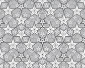 明星无缝模式. — 图库矢量图片