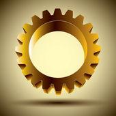 Złoty bieg. — Wektor stockowy