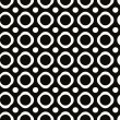 Abstract geometric black and white background, seamless pattern, — Stock Vector #49103001