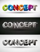 Concept. — Stock Vector