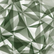 Постер, плакат: Abstract vector geometric 3D background complicated science neu