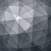 Abstract 3D vector graphic backdrop, modern geometric decorative — Cтоковый вектор