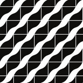 Geometric tiles seamless pattern, vector background. — Stock Vector