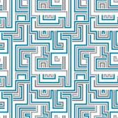 Maze seamless pattern. — Vector de stock