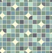 Vector colorful interlacing geometric background, illusory squar — Stock Vector