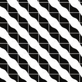 Geometric mosaic seamless pattern, vector background. — Stock Vector