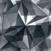 Abstract 3D vector graphic backdrop, design contemporary shaped — Stok Vektör