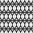 Monochrome vintage style netting seamless pattern. — Stock Vector #51676727